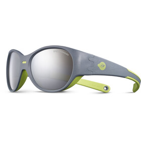 Julbo Kids 3-5Y Puzzle Spectron 4 Sunglasses Gray/Green-Gray Flash Silver